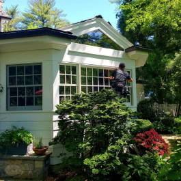 Residential window cleaning service in New York