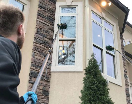 External Window Cleaning – Hire Big Apple