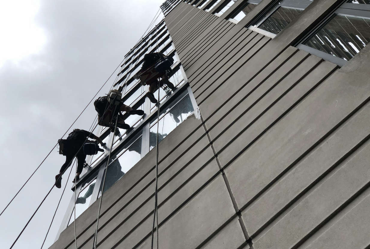 We have insured window cleaners