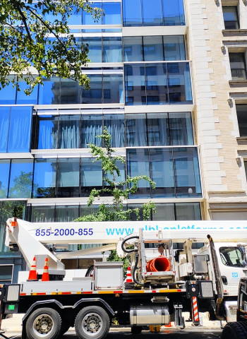Windows cleaning in 57 Irving Place