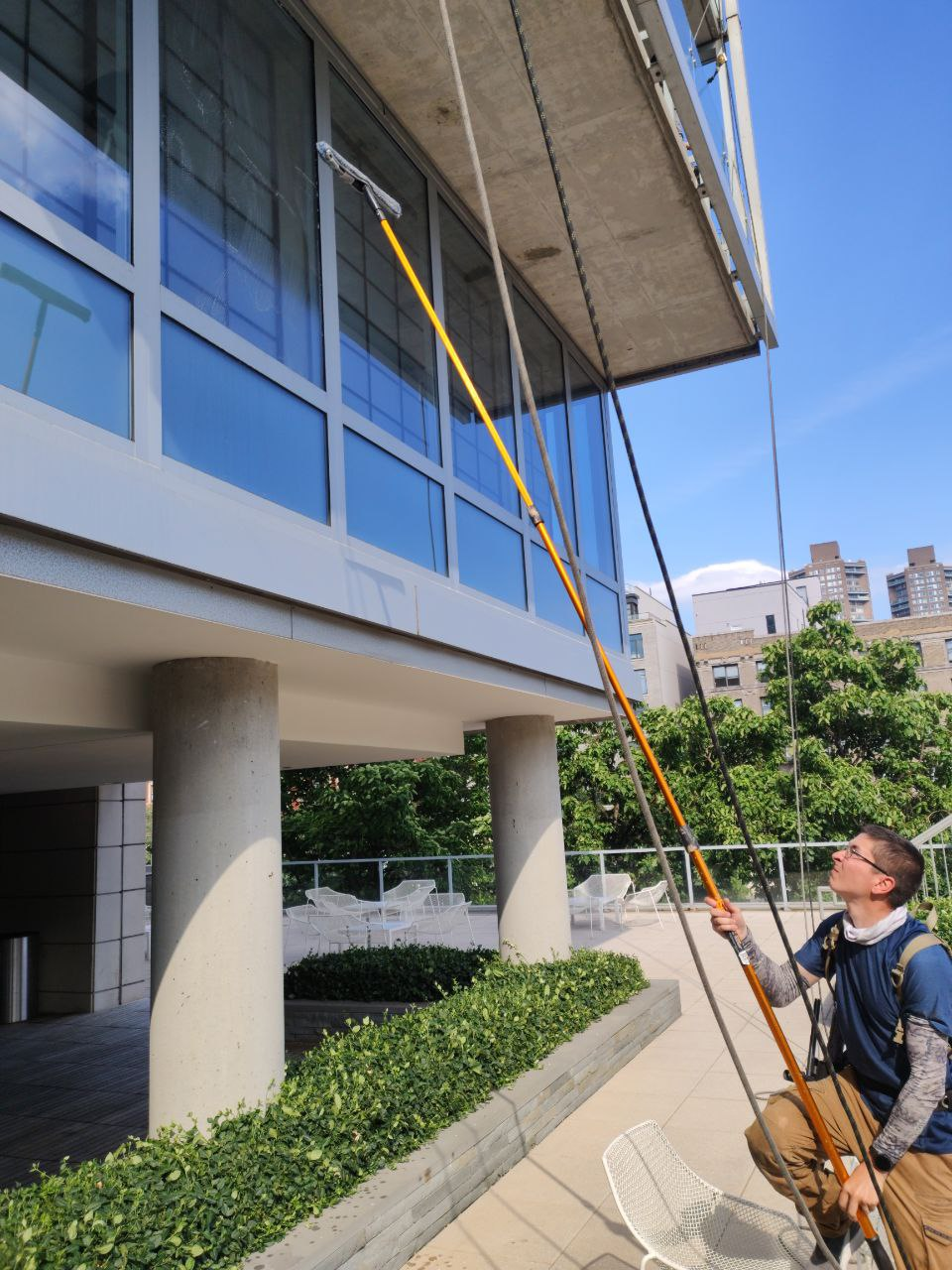 commercial building window cleaning Manhattan