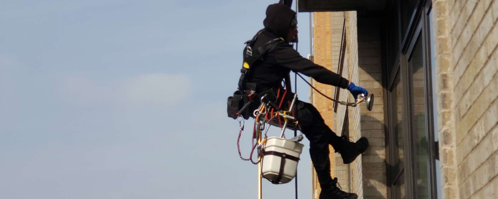high window cleaning services