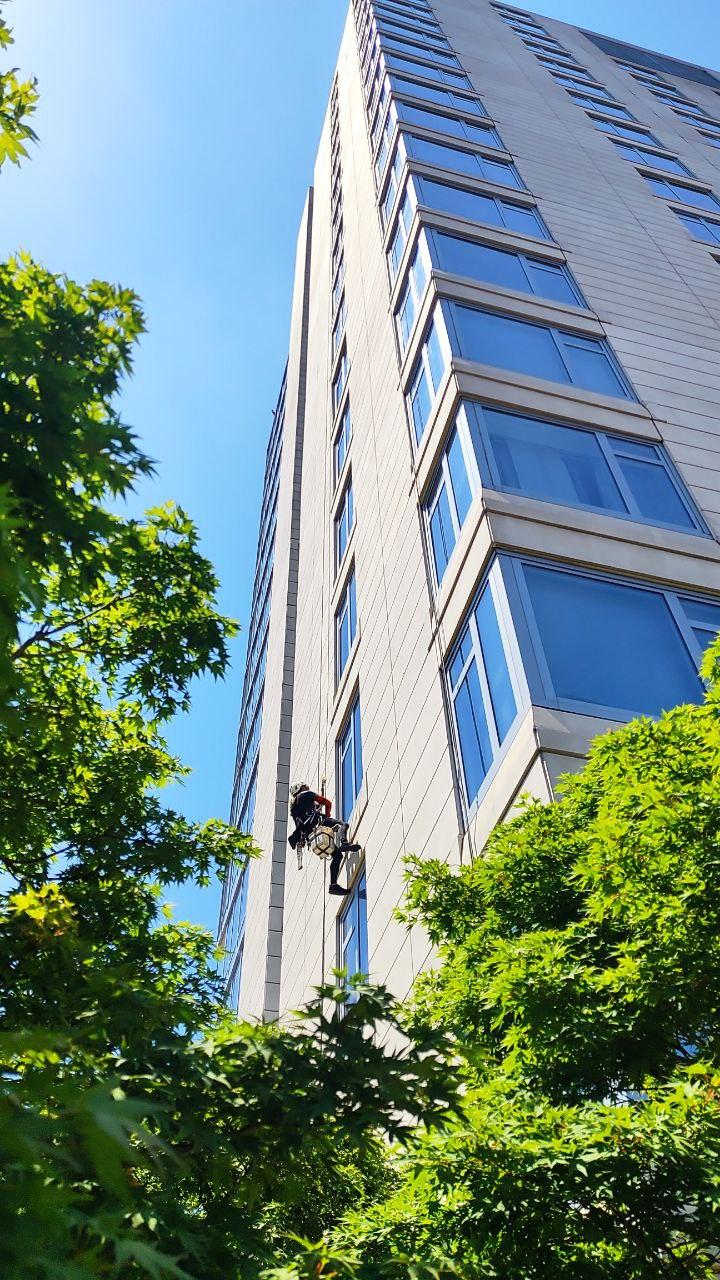 High rise cleaner new york city Manhattan