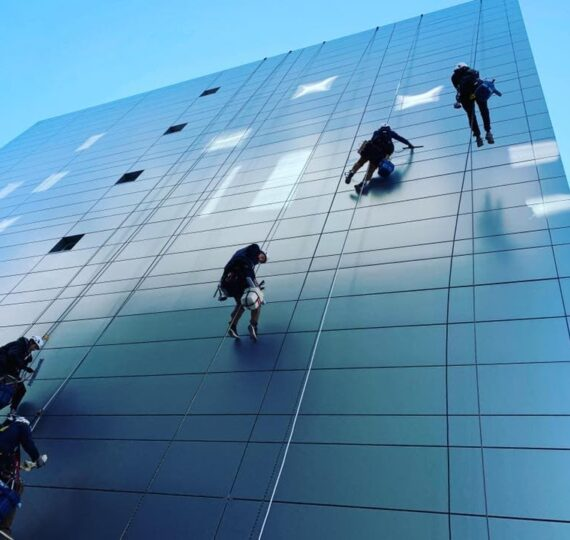 Window Cleaning Access Method New York
