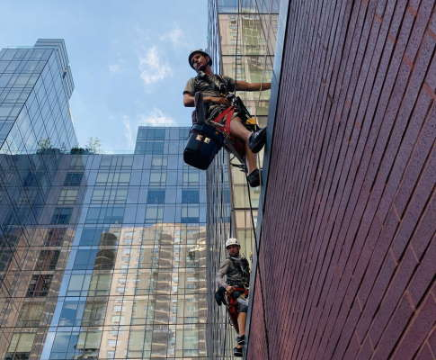 We have insured window cleaners in New York