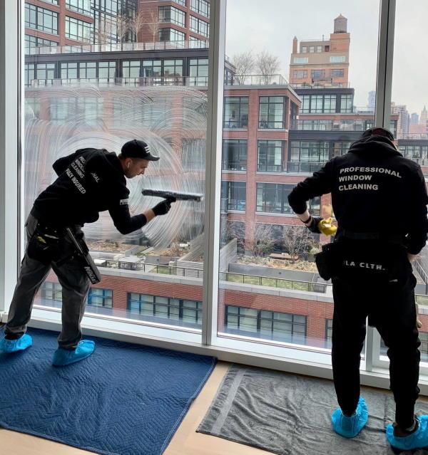 Professional glass restoration