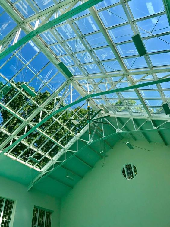 Greenhouse window cleaning service