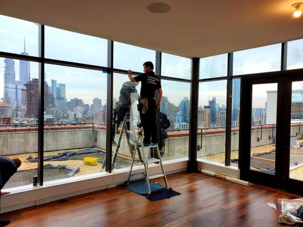 post-construction window clean nyc