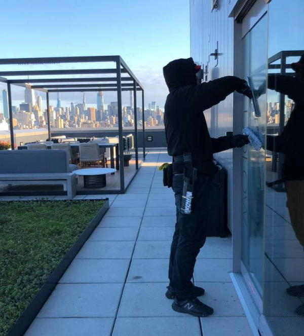 regular window cleaning services
