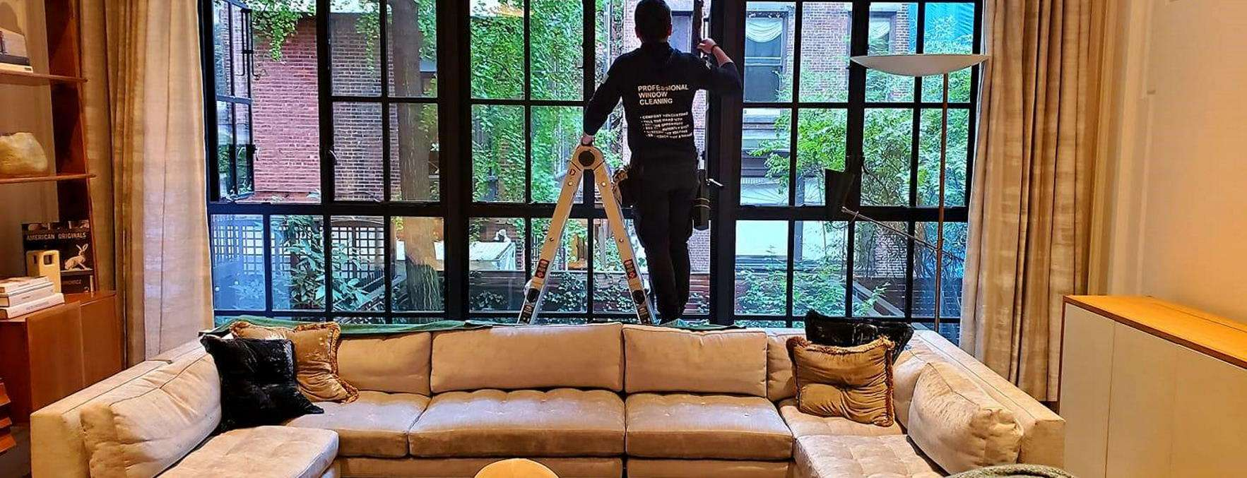 Residential window cleaning New York