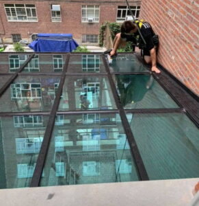 skylight cleaning service