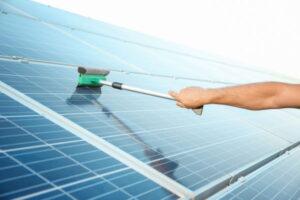 Solar panel cleaning New York