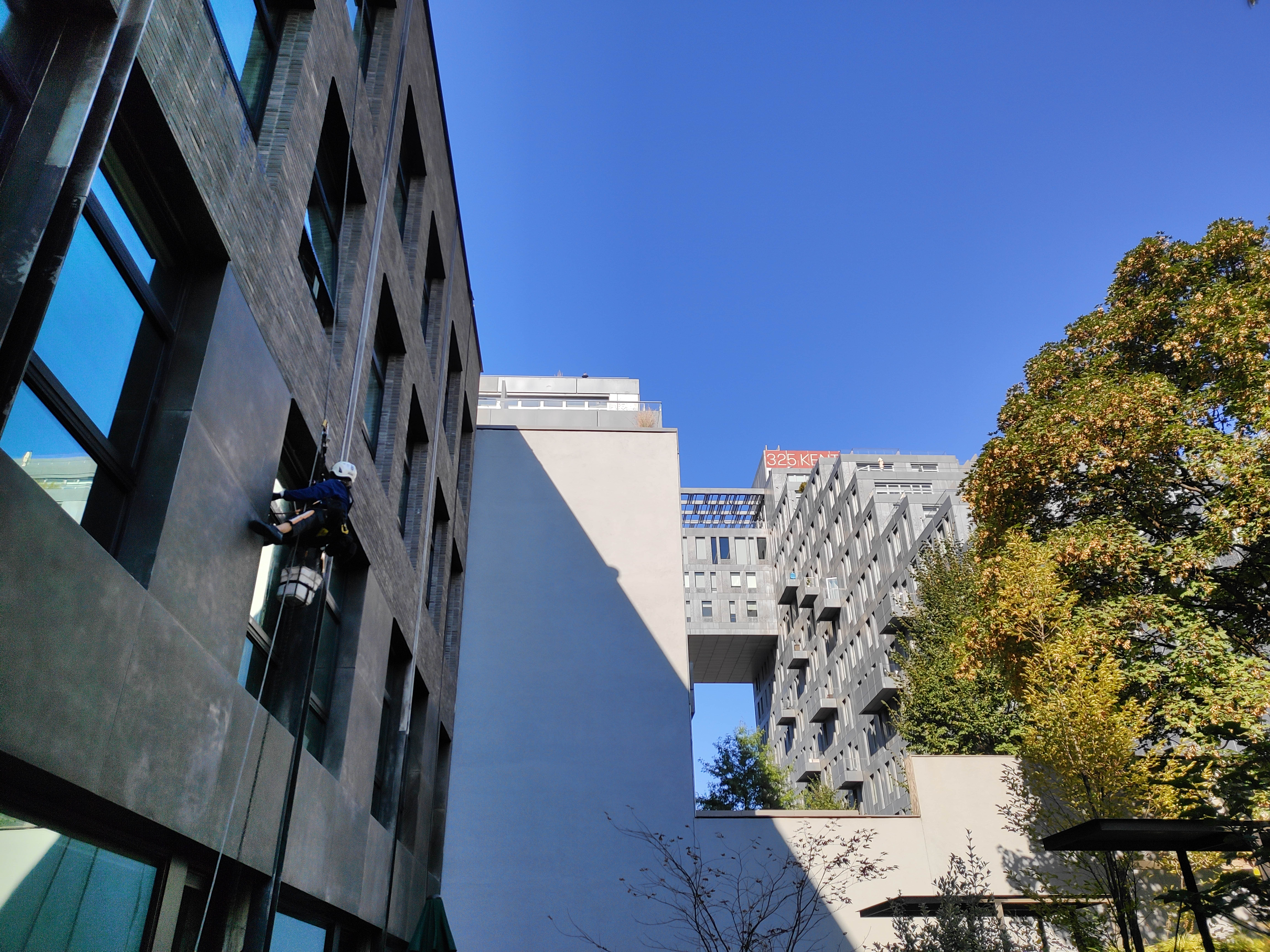 Facade cleaning in 59 South 4th Street NYC